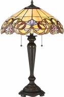 Quoizel TF2802TIB Tiffany Tiffany Imperial Bronze Table Lighting