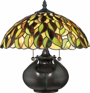 Quoizel TF3181T Tiffany Valiant Bronze Table Lighting