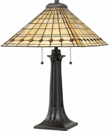 Quoizel TF3335TVB Tiffany Tiffany Vintage Bronze Table Light