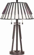 Quoizel TF3339TWT Tiffany Tiffany Western Bronze Lighting Table Lamp