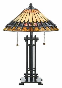 Quoizel TF489T Chastain Tiffany Table Lamp