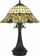 Quoizel TF5213TVB Snyder Traditional Vintage Bronze Table Lamp