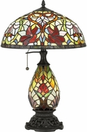 Quoizel TF5214TVB Channing Traditional Vintage Bronze Table Light