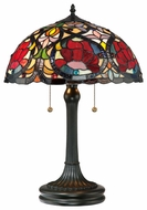 Quoizel TF879T Larissa Tiffany Table Lamp