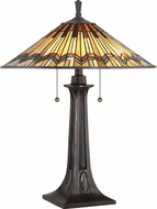 Quoizel TFAT6325VA Alcott Tiffany Valiant Bronze Table Light