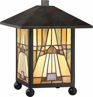 Quoizel TFIK6111VA Inglenook Tiffany Valiant Bronze Lighting Table Lamp