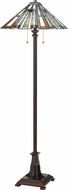 Quoizel TFMK9362VA Maybeck Tiffany Valiant Bronze Floor Light