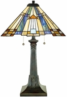 Quoizel TFT16191A1VA Inglenook Tiffany Table Lamp