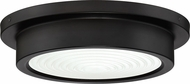 Quoizel TMN1612OI Terminal Contemporary Oil Rubbed Bronze LED 12  Flush Mount Lighting
