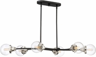 Quoizel TNC642EK Trance Contemporary Earth Black Kitchen Island Light Fixture