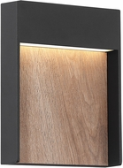 Quoizel TPS8407EK Tempest Contemporary Earth Black LED Exterior Wall Sconce Lighting