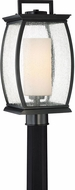 Quoizel TRE9009K Terrace Contemporary Mystic Black Outdoor Post Lighting