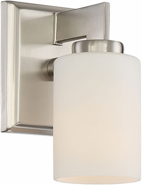 Quoizel TY8601BN Taylor Modern Brushed Nickel Wall Light Sconce