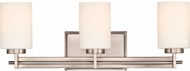 Quoizel TY8603AN Taylor Modern Antique Nickel 3-Light Bath Wall Sconce