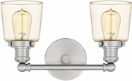 Quoizel UNI8602BN Union Contemporary Brushed Nickel 2-Light Bathroom Lighting Sconce