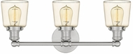 Quoizel UNI8603BN Union Modern Brushed Nickel 3-Light Bathroom Sconce Lighting