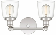 Quoizel UNIC8602PK Union Contemporary Polished Nickel 2-Light Bathroom Lighting