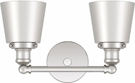 Quoizel UNIM8602PK Union Contemporary Polished Nickel 2-Light Vanity Light