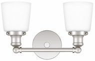 Quoizel UNIO8602PK Union Contemporary Polished Nickel 2-Light Bathroom Sconce