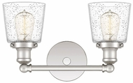 Quoizel UNIS8602PK Union Contemporary Polished Nickel 2-Light Bath Wall Sconce