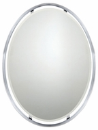 Quoizel UPRZ43426C Uptown Ritz by Sergio Orozco Small Modern 34 Inch Tall Oval Mirror