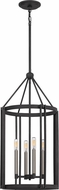 Quoizel VC5204MB Victor Contemporary Mottled Black Foyer Lighting
