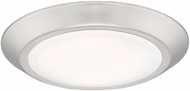 Quoizel VRG1608BN Verge Contemporary Brushed Nickel LED 8  Flush Mount Ceiling Light Fixture