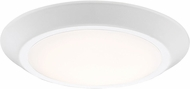 Quoizel VRG1608W Verge Contemporary Fresco LED 8  Overhead Light Fixture