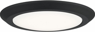 Quoizel VRG1612EK Verge Earth Black LED 12  Overhead Light Fixture