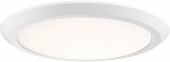Quoizel VRG1616W Verge Contemporary Fresco LED 16  Ceiling Light Fixture
