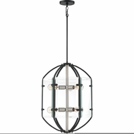 Quoizel VS5206EK Vessel Modern Earth Black Foyer Lighting Fixture