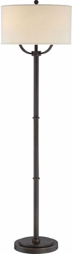 Quoizel VVBY9362OI Vivid Collection Broadway Oil Rubbed Bronze Floor Lamp Lighting