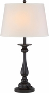 Quoizel VVKY6328PN Vivid Collection Kingsley Palladian Bronze Table Light