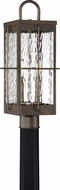 Quoizel WAR9008GZ Ward Gilded Bronze Exterior Post Light Fixture