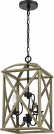 Quoizel WHN5203DW Woodhaven Distressed Weathered Oak 12.5 Entryway Light Fixture