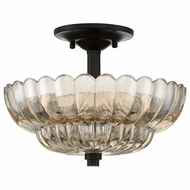 Quoizel WHP1712MC Whitecap Mottled Cocoa Home Ceiling Lighting