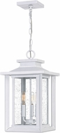 Quoizel WKF1911W Wakefield White Lustre Outdoor Pendant Hanging Light