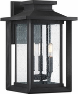 Quoizel WKF8411EK Wakefield Contemporary Earth Black Outdoor 10.75 Wall Sconce Lighting