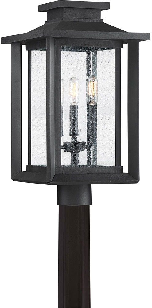 Quoizel Wkf9011ek Wakefield Modern Earth Black Outdoor Post Lamp Loading Zoom