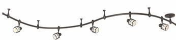 Quoizel WNS1405WT Winside Contemporary Western Bronze LED Track Lighting