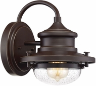 Quoizel WTE8408WT Waterville Contemporary Western Bronze Outdoor 8 Wall Light Fixture