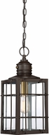 Quoizel WTO1909WT West Oak Western Bronze Exterior Hanging Pendant Light