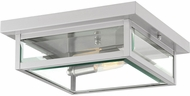 Quoizel WVR1612SS Westover Contemporary Stainless Steel Ceiling Light