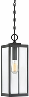 Quoizel WVR1907EK Westover Contemporary Earth Black Outdoor Hanging Pendant Light