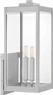 Quoizel WVR8409SS Westover Contemporary Stainless Steel Exterior Wall Sconce Lighting