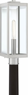 Quoizel WVR9007SS Westover Stainless Steel Outdoor Lamp Post Light Fixture