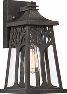 Quoizel WWD8407IB Wildwood Traditional Imperial Bronze Exterior Small Wall Sconce Light