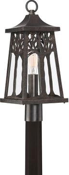 Quoizel WWD9009IB Wildwood Traditional Imperial Bronze Outdoor Post Light