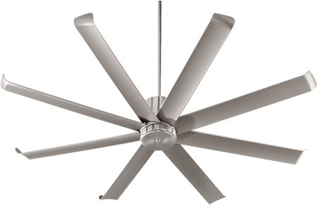quorum ceiling fans french country quorum 19672865 proxima patio modern satin nickel w blades exterior 72nbsp loading zoom