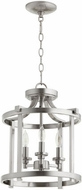 Quorum 2817-13-65 Lancaster Satin Nickel Foyer Light Fixture